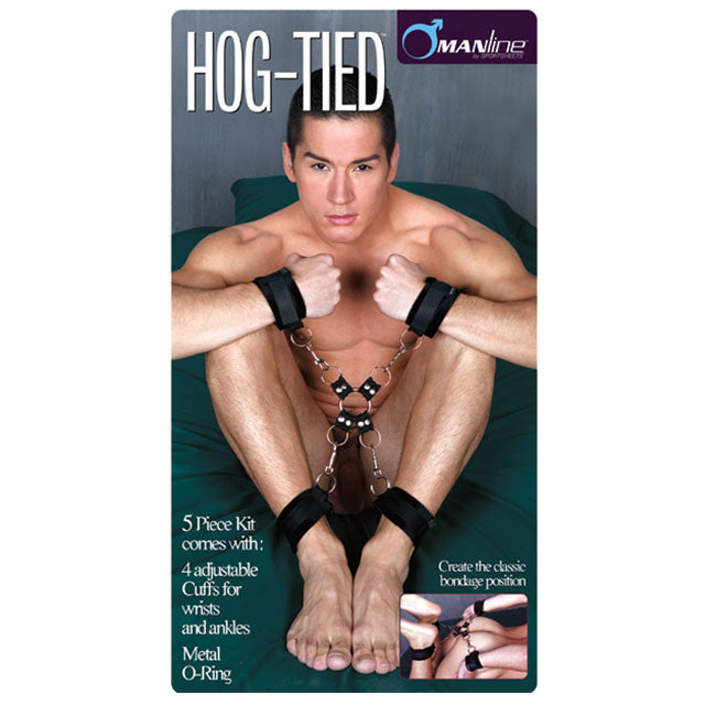Manbound 5-Piece Hog Tie & Cuff Set