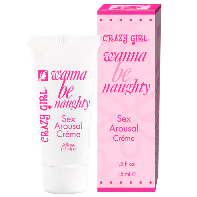 Crazy Girl Naughty Nympho Sex Cream