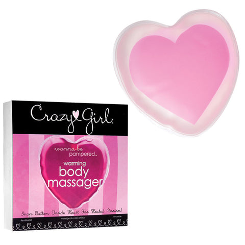 Crazy Girl Warming Body Massager Pink