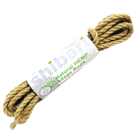 Shibari Natural Hemp Bondage Rope 5m