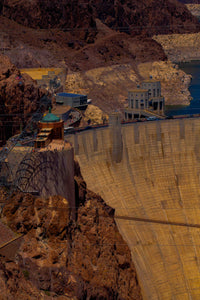 Motiv 7477 Sunset over Hoover Dam