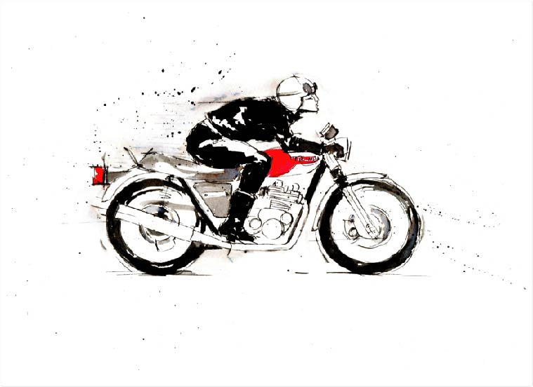 Art Prints - Motorcycles