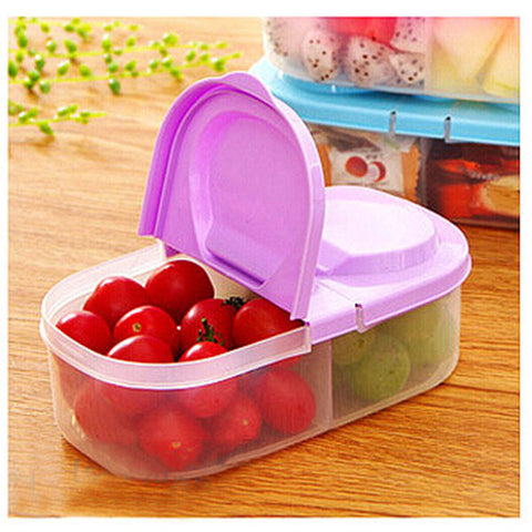 Dual Section Food Container