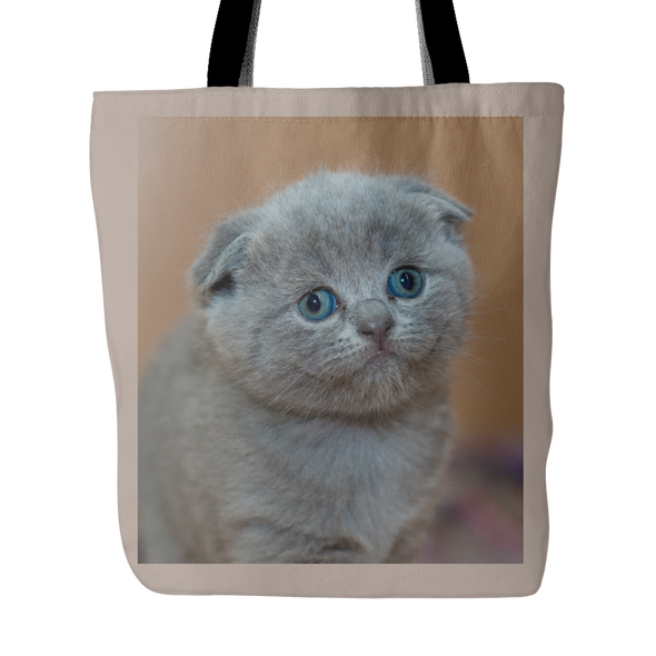 Grey Cat Bag