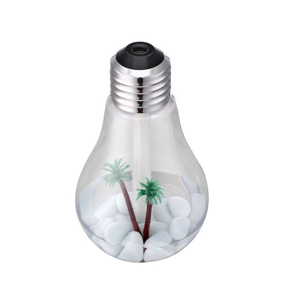 Mini Aroma Diffuser for Home and Office as Bottle bulb