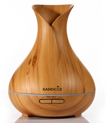 400ml Aroma Oil Diffuser with Wood Grain
