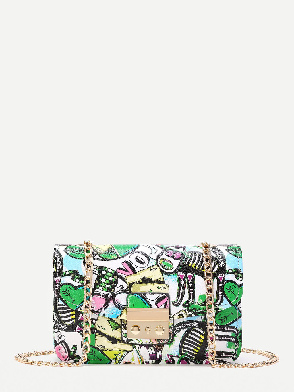 Paint Splash Snap Lock Bag - Hautify