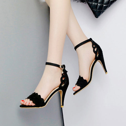 Stiletto Buckle Sandals For Women