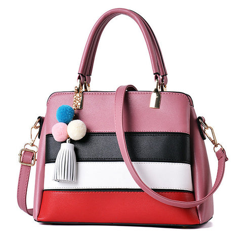 Fashion simple Color Contrast hand Bag - Hautify