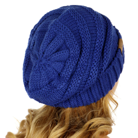 Oversized Slouchy Knit Hat