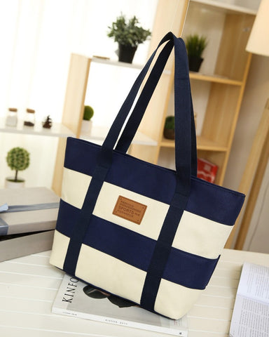 High Quality Canvas Casual Beach Tote Bags