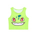 Cute Cartoon 3D Print Crop Top for Women - Hautify