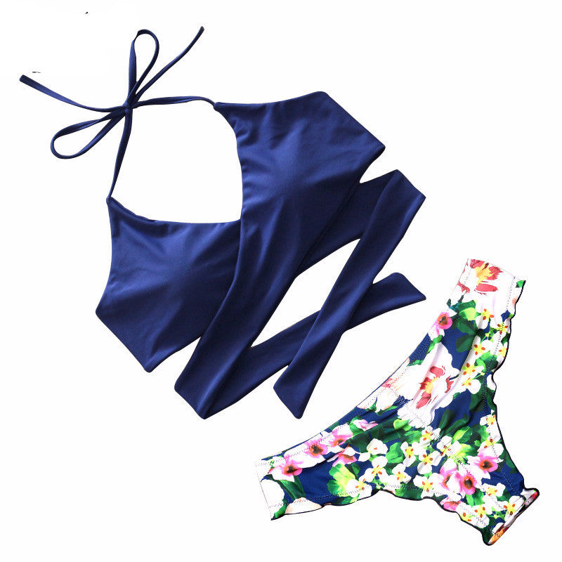 Macha Collection Of Cross Straps Cute Bikinis - Hautify