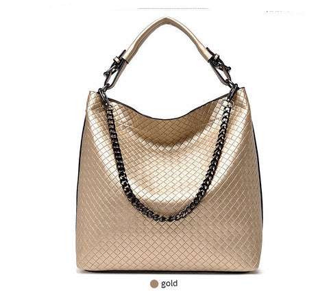 Chain Bucket Women Large Tote Bag - Hautify