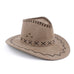 Macha Collection Weaved Rope Felt Trendy Unisex Cowboy Hats - Hautify
