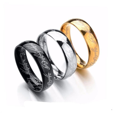 Lord of the Rings Stainless Steel Ring BOGO SALE - Hautify