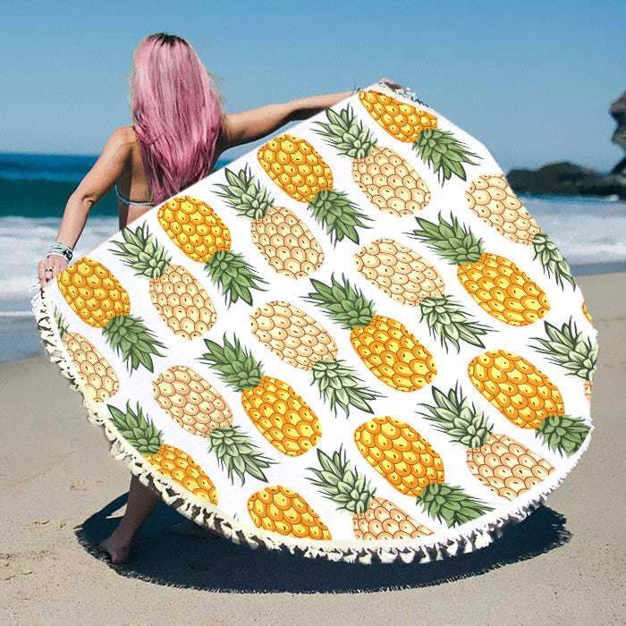 Multi-Way Round Beach Throw - Hautify