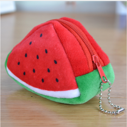 Cute 3D Triangle Fruit Coin Purse - Hautify