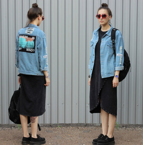 Where Is My Mind? Denim Jacket - Hautify