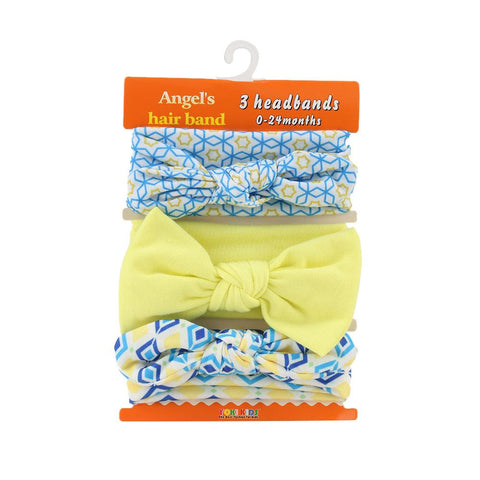 3PCS Mixed Styles Bowknot Hair Band Accessories