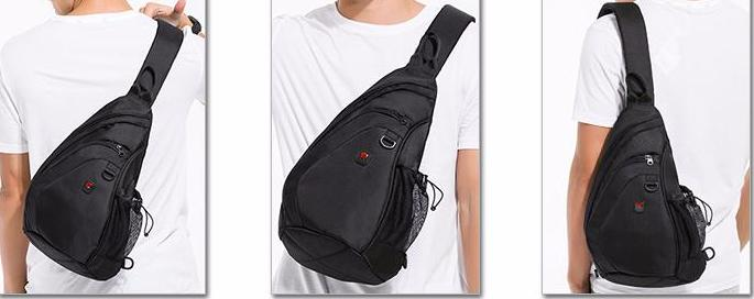 Multi-Purpose Chest Sling Shoulder Bag