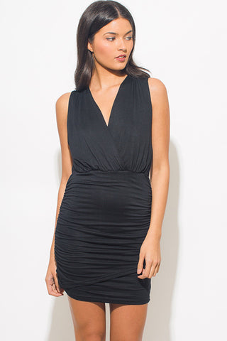 Ruched Club Dress for Women Little Black Dresses Best Deal