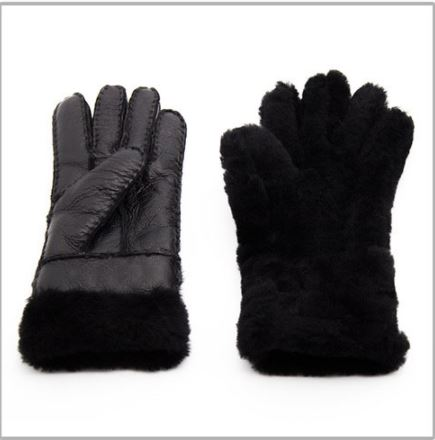 Breathable Sheepskin Women's Thick Gloves - Hautify
