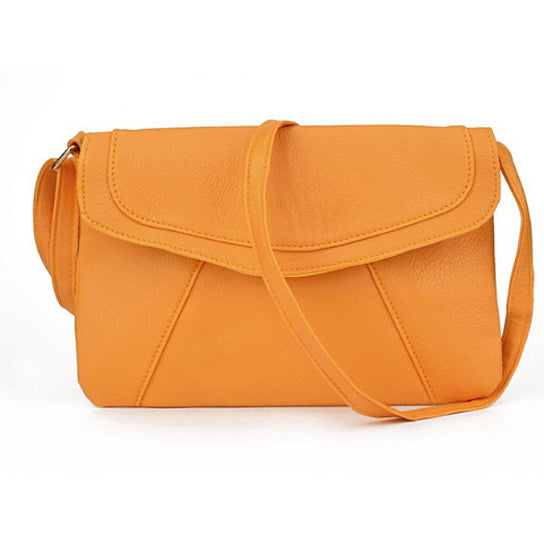 Vintage Leather Envelope Clutch Shoulder Bag for Women - Hautify