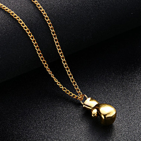 Mini Boxing Pendant Necklace For Men - Hautify