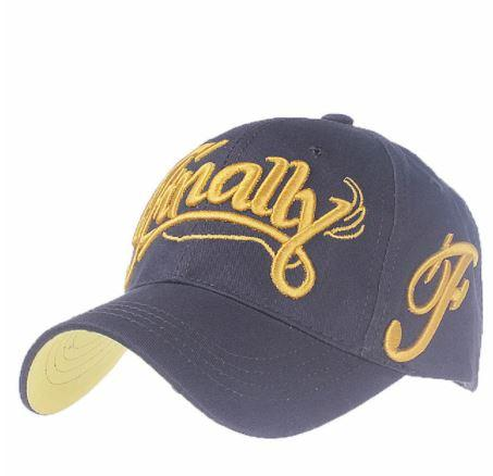 """Finally"" Adjustable Snap Back Embroidered Baseball Cap - Hautify"