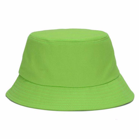 Solid  Foldable Unisex Bucket Hats - Hautify