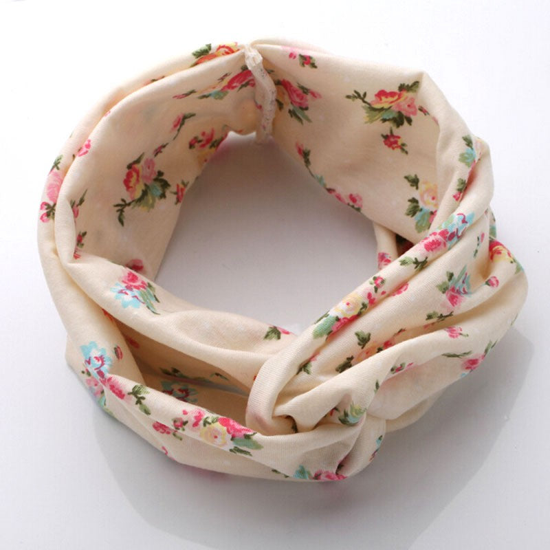 Floral Print Elastic Hairbands for Women BOGO - Hautify