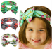 Butterfly Bow Elastic Turban Knot Headbands for Girls BOGO - Hautify