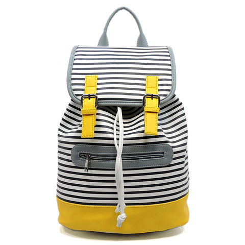 Colorblock Stripe Backpack - Hautify