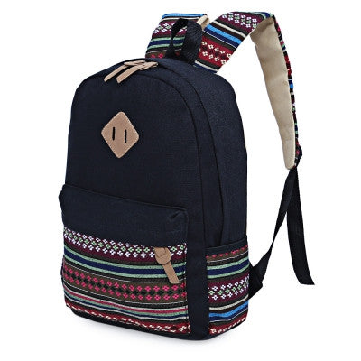 Canvas Portable Backpack for Women - Hautify
