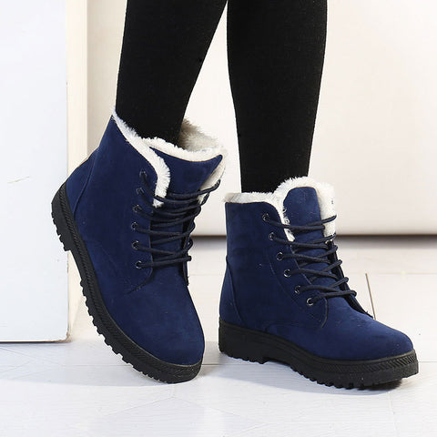 Cozy High Top Winter Boots for Women