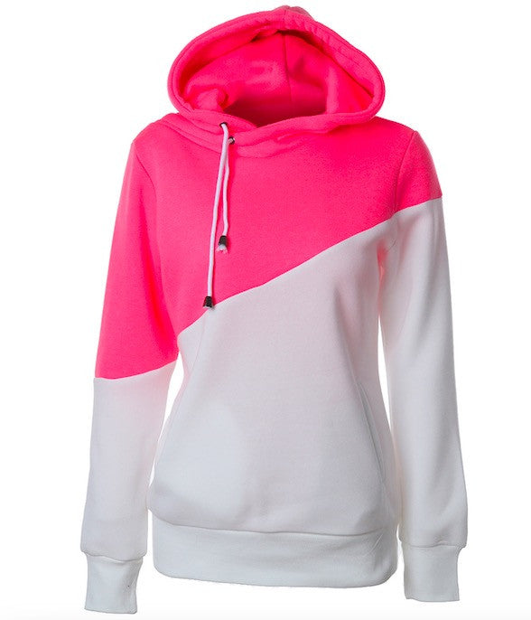 Women Casual Solid Hoodies Unisex Sweatshirts - Hautify