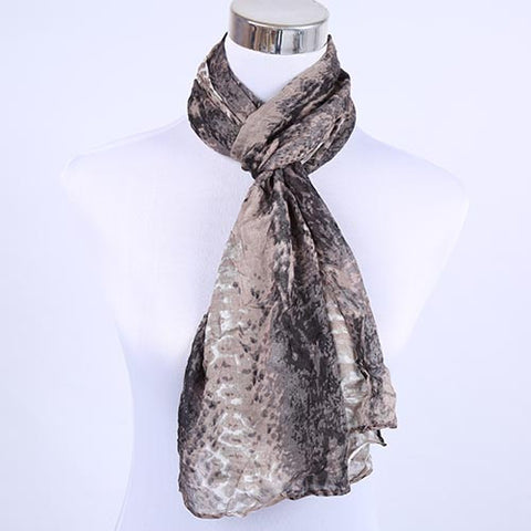 Warm Scarves Multi Print Fashion Scarf