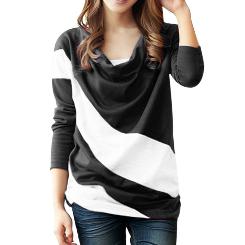 Colorblock Diana Knit Top for Women S-3XL