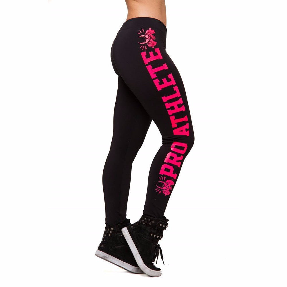 S-XL Women's Leggings Fashion Leggings Letter Print Slim Black Leggings Women Workout Sportswear Ankle Length Leggings Women - Hautify