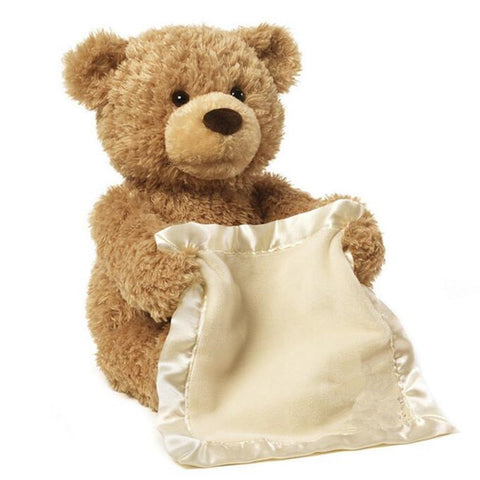 Peek A Boo Hide and Seek Musical Teddy Bear - Hautify