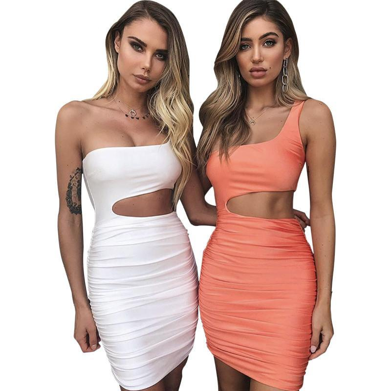 Off Shoulder Sexy Bodycon Bandage Dress for Women
