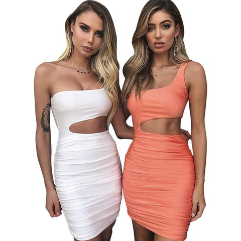 Off Shoulder Sexy Bodycon Bandage Dress for Women - Hautify