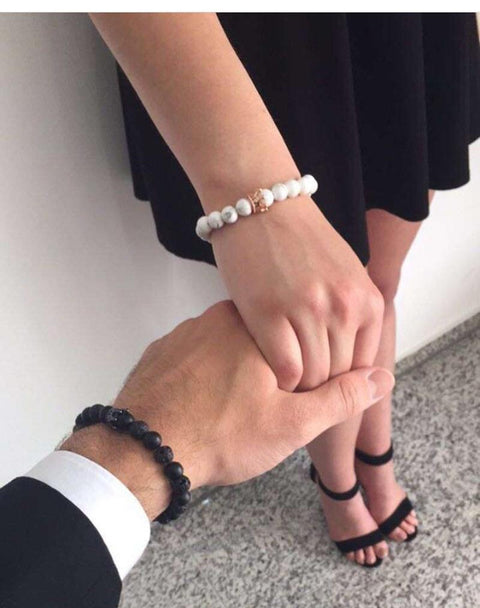 Love is Forever Couple Bracelets - Hautify