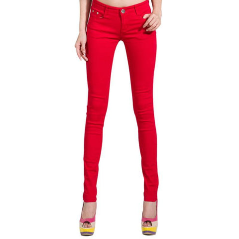 Slim Leg Pencil Skinny Jeans for Women - Hautify
