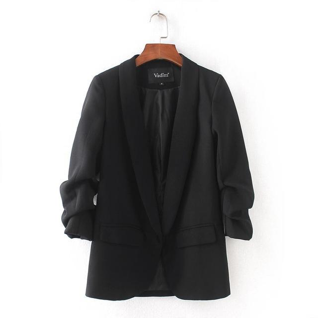 Womens Cool Weather Quarter Sleeve Blazer