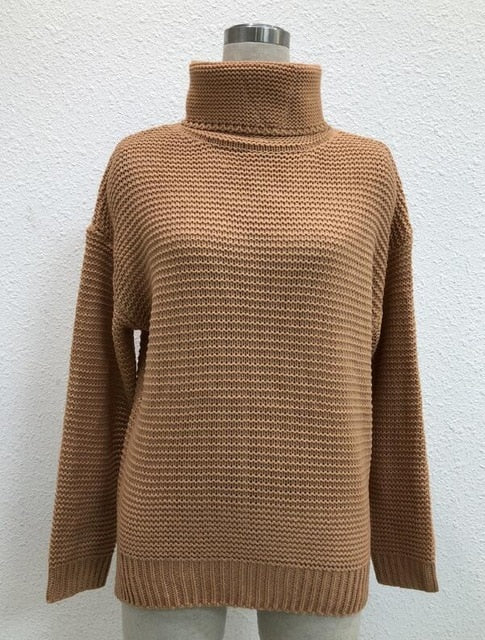 Thick Turtleneck Oversized Sweater for Winter - Hautify