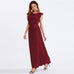 I AM YOURS Frill Maxi Dress - Hautify