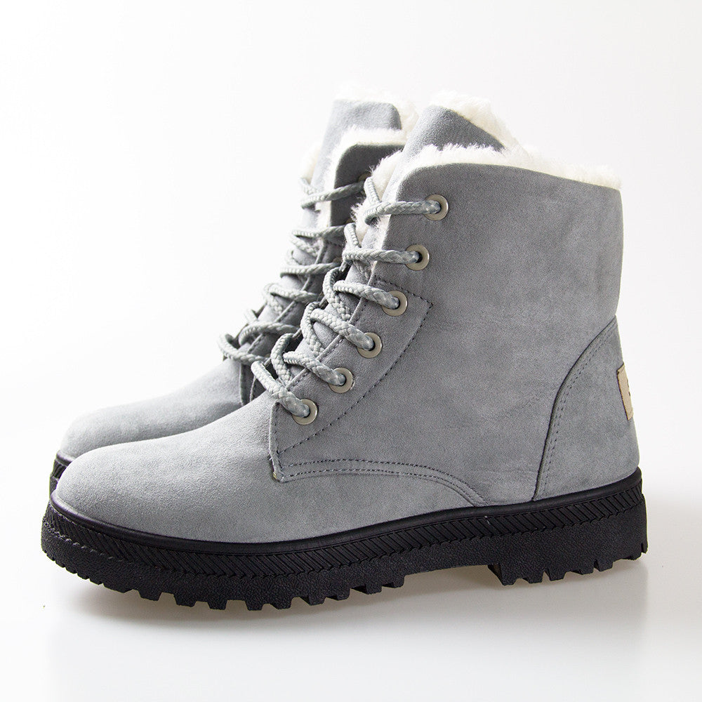Cozy High Top Winter Boots for Women - Hautify