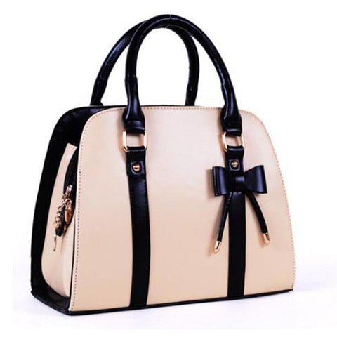 Fancy Bow Handbags Shoulder Tote Bag for Women - Hautify